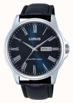 Lorus Reloj para hombre clásico vestido con esfera azul RXN13DX9