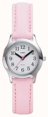 Timex Para mujer / niños de color rosa correa de reloj T79081