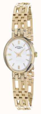 Rotary Dial de óvalo de metales preciosos de élite de oro de 9 ct. LB10090/02