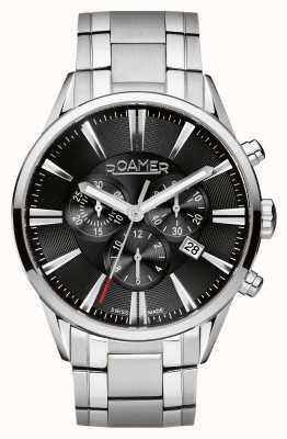 Roamer Para hombre reloj cronógrafo de acero inoxidable 508837415550