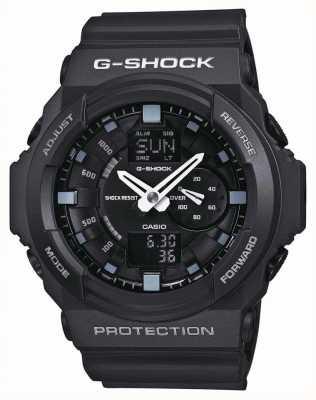 Casio Cronógrafo negro g-shock para hombre GA-150-1AER