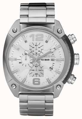 Diesel Reloj de pulsera de acero inoxidable caballero cronógrafo DZ4203