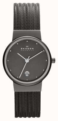 Skagen Reloj pulsera de malla de acero Ladies 355SMM1
