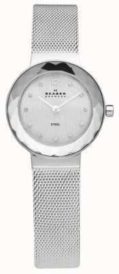 Skagen Reloj pulsera de malla de acero Ladies 456SSS