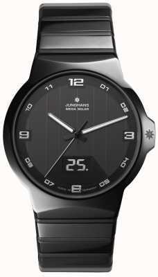 Junghans Fuerza caballeros del reloj de cerámica 018/1132.44