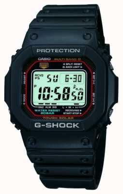 Casio Mens g-shock cronógrafo digital de alarma GW-M5610-1ER