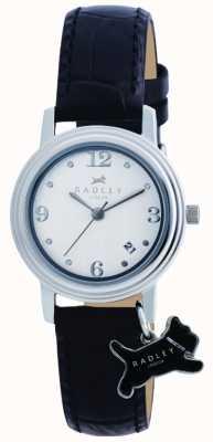 Radley reloj de la correa de cuero negro Darlington RY2007