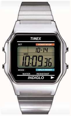Timex Indiglo alarma reloj cronógrafo de Gent T78587