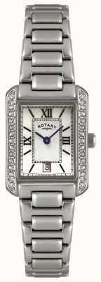 Rotary reloj de pulsera de acero inoxidable Mujeres LB02650/41