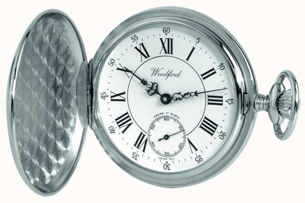 Woodford Para hombre de cuerda manual reloj analógico mecánico 1012