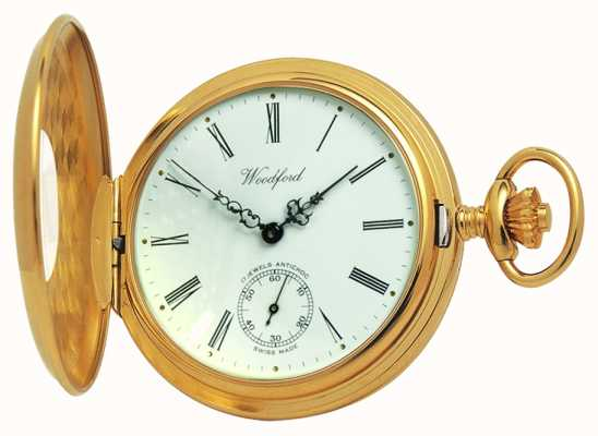 Woodford reloj de bolsillo medio cazador 1015