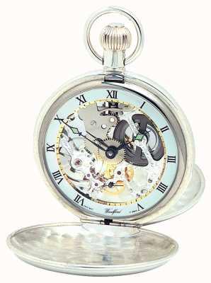 Woodford Reloj de bolsillo completo para hombre de cuerda manual 1002