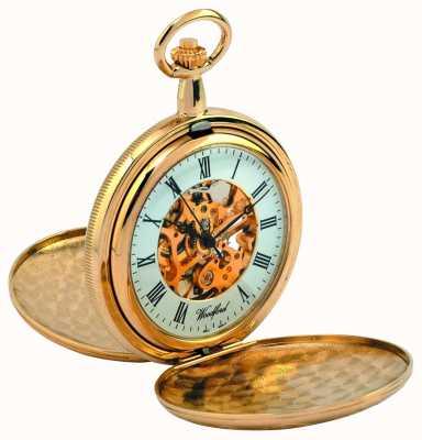 Woodford reloj de bolsillo cazador completa 1038