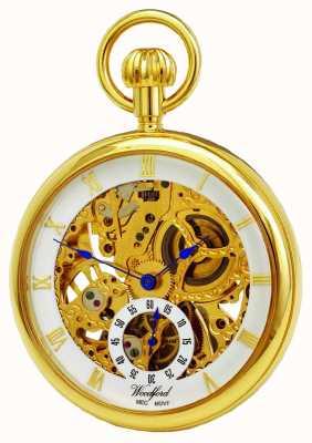Woodford reloj de bolsillo de la cara abierta 1044