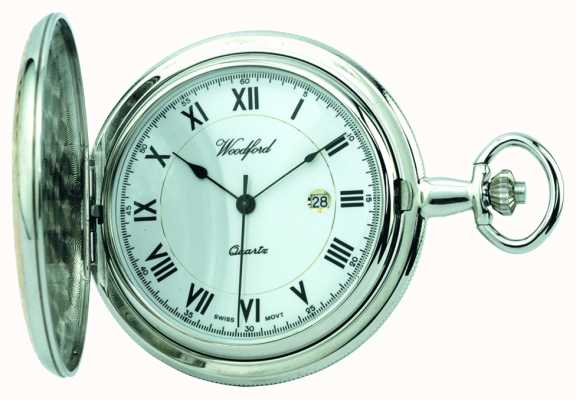 Woodford Mens reloj de bolsillo lleno cazador 1218