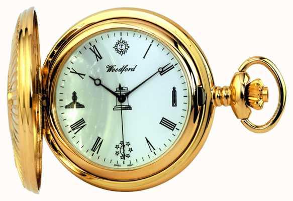 Woodford reloj de bolsillo masónico 1214