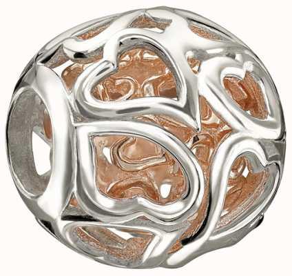Chamilia Corazones Rose oro capturados 2010-3092