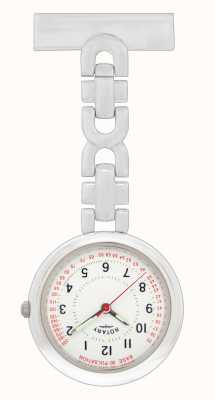 Rotary Enfermeras fob reloj acero inoxidable LPI00616