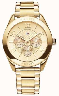 Reloj Mujer Tommy Hilfiger Gracie, Chapado Oro 1781214