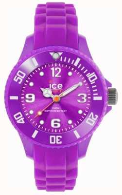 Ice-Watch Los niños para siempre, silicona, púrpura SI.PE.M.S