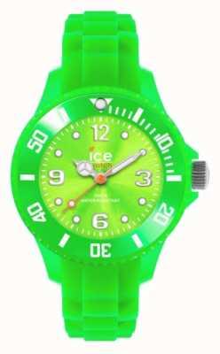 Ice-Watch De los niños para siempre, de silicona, verde SI.GN.M.S