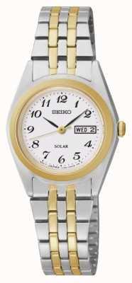 Seiko Día de señoras reloj / fecha SUT116P9