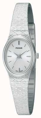 Reloj Pulsar Señora Acero Inoxidable Correa de Malla Ovalado PK3031X1