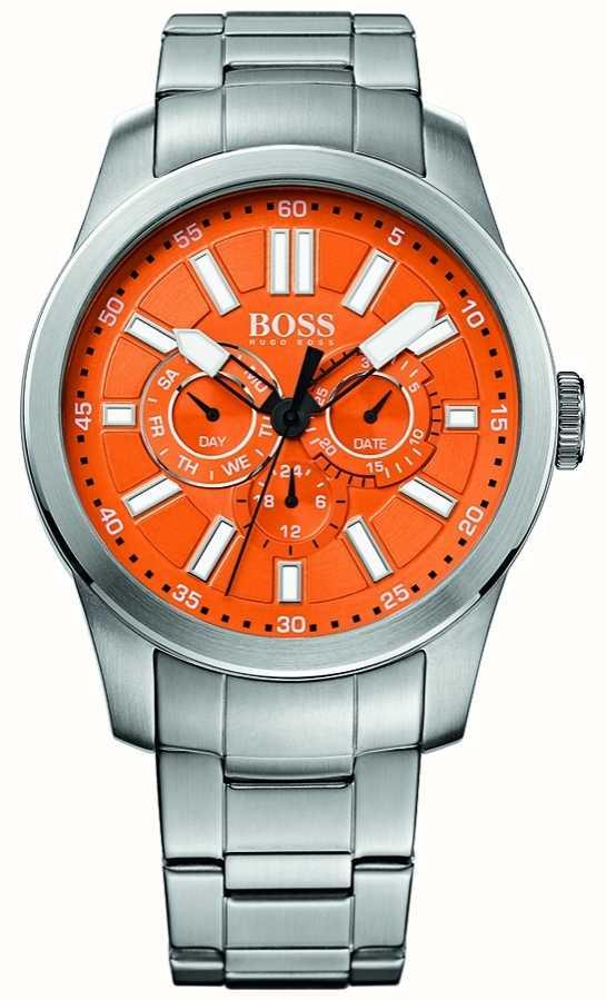 d5c19d43134c Hugo Boss Orange Esfera Naranja Hombre En Acero Y Reloj Dial ...