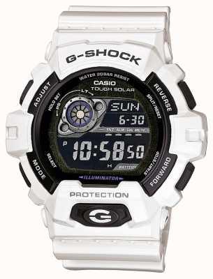Casio Reloj para hombre con energía solar resina blanca GR-8900A-7ER