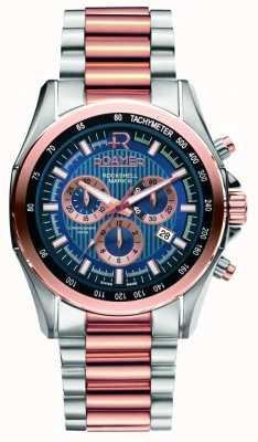 Roamer Para hombre de acero inoxidable rockshell & Rose reloj de oro 220837494520