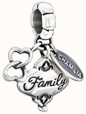 Chamilia Plata de ley - su don de la familia 2010-3139