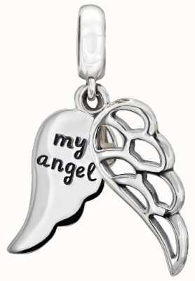 Chamilia Alas de ángel amoroso - plata de ley 2010-3165