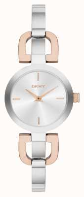 DKNY Dos tonos, reloj del brazalete de las señoras NY2137