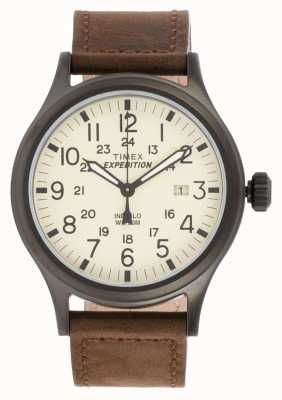 Timex Mens expedición reloj marrón explorador T49963