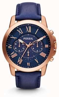 Fossil Mens conceden reloj marino cronógrafo FS4835