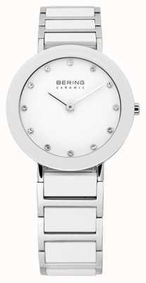 Bering Cerámica y pulsera de metal reloj 11429-754
