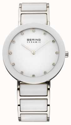 Bering Cerámica y pulsera de metal reloj 11435-754
