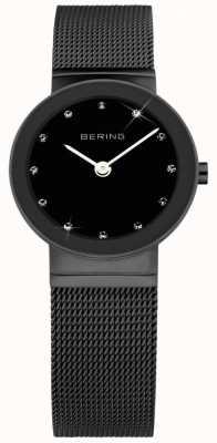 Bering Damas de acero inoxidable reloj análogo de cuarzo 10126-077