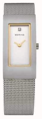Bering Damas de acero inoxidable reloj análogo de cuarzo 10817-004