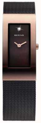 Bering Damas de acero inoxidable reloj análogo de cuarzo 10817-262