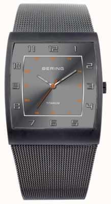Bering Caballeros de acero inoxidable reloj análogo de cuarzo 11233-077