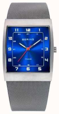 Bering Caballeros de acero inoxidable reloj análogo de cuarzo 11233-078