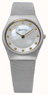 Bering Damas de acero inoxidable reloj análogo de cuarzo 11927-004