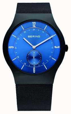 Bering Caballeros de acero inoxidable reloj análogo de cuarzo 11940-227