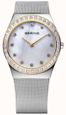 Bering Piedra incrustada ultra delgado reloj 12430-010