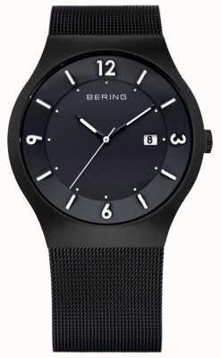 Bering Caballeros de acero inoxidable reloj análogo de cuarzo 14440-222