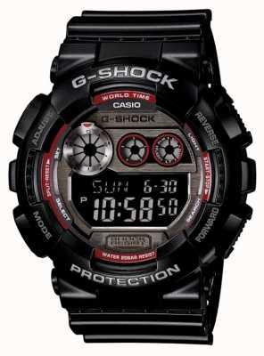 Casio Reloj de color rojo negro para hombre GD-120TS-1ER