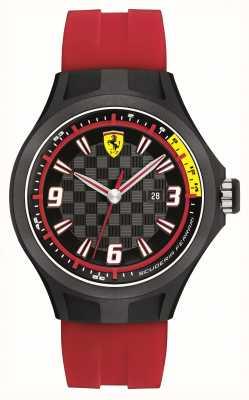 Scuderia Ferrari para hombre del equipo de hueco del reloj 0830002