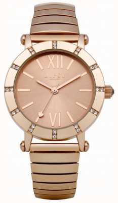 Lipsy Rose reloj pulsera expansor de oro LP100