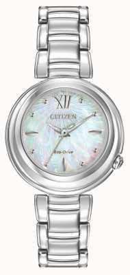 Citizen Damas Eco-Drive reloj l amanecer EM0330-55D